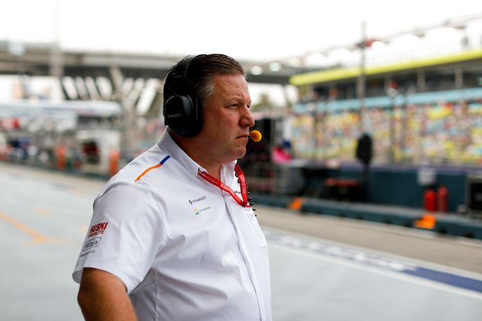 McLaren-teambaas Zak Brown.