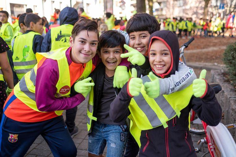 Meer dan 1.000 leerlingen kregen twee weken lang les over verkeersveiligheid.