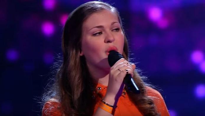 Iris is de winnares van The Voice Kids.