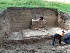Restanten van de oudste stadsmuur van Utrecht gevonden bij Park Lepelenburg