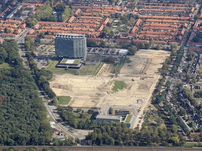 Eindhoven, Woensel, Boschdijk, nieuwbouw terrein Philips Nederland