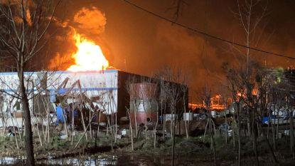 Negentien doden bij brand in Chinese fabriek