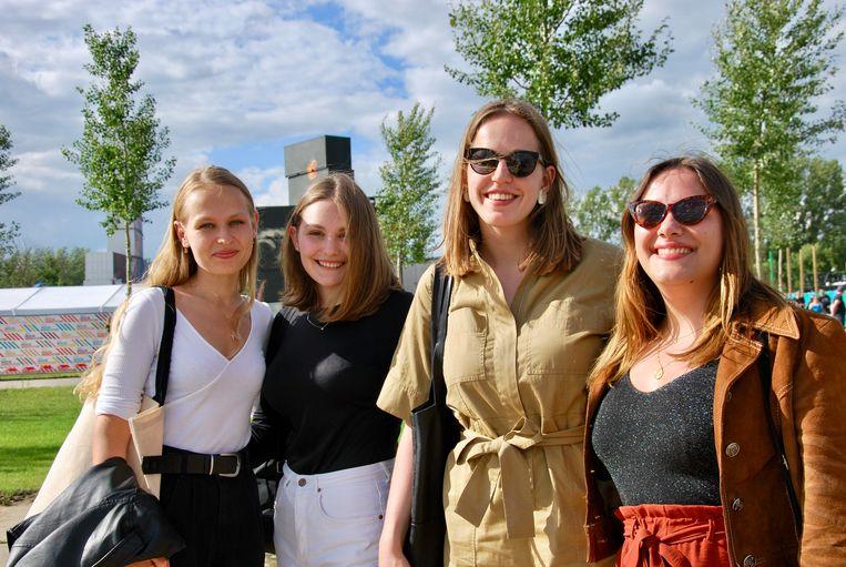 Natalia, Andriana, Martha en Solomya zijn blij dat ze het een keer konden meemaken.