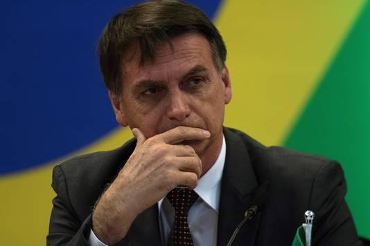 De nieuw verkozen president van Brazilië Jair Bolsonaro.
