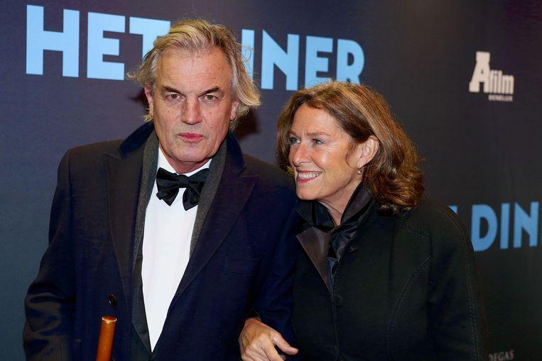 Derek de Lint met zijn vrouw Dorith. Beeld ANP