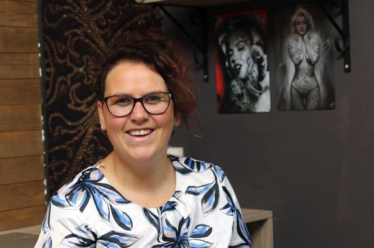 Carolien Michielsen opende begin januari haar eigen tattoo-shop in Herenthout
