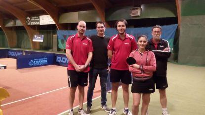 B-team Tafeltennisclub Zele kroont zich tot kampioen