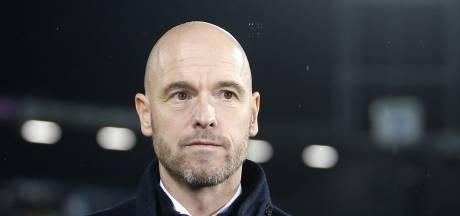 Ten Hag boos over nonchalante houding Ajax in tweede helft