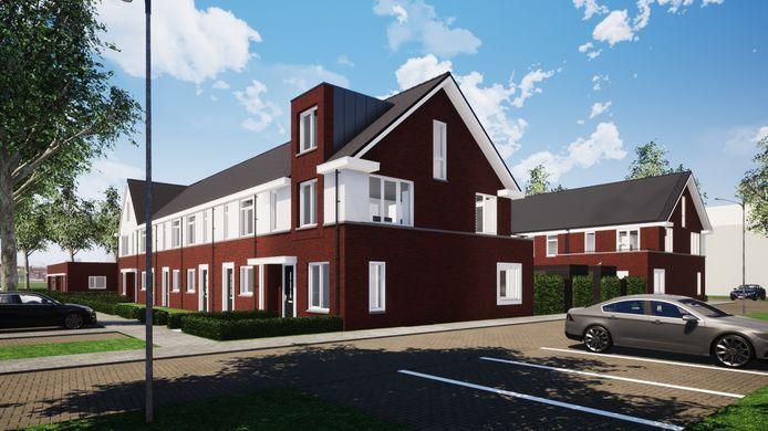 Woningbouw op locatie De Kring in Rijen