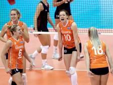 LIVE | Volleybalsters verliezen eerste set in halve finale WK tegen Servië