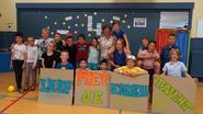 Leerlingen zwaaien schooljaar uit met bonte namiddag
