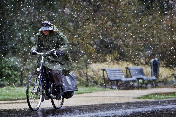 Eind deze week gaat het mogelijk sneeuwen in Oost-Nederland.