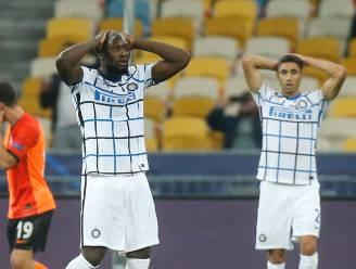 Frustrerende avond voor Lukaku en co: inefficiënt Inter lijdt tegen Shakhtar nieuw puntenverlies