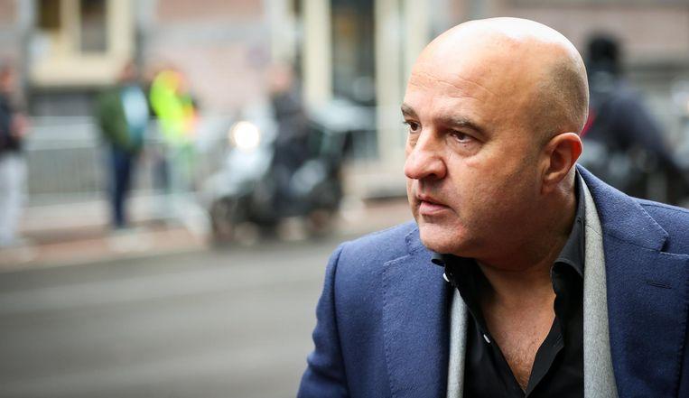 Misdaadjournalist John van den Heuvel. Beeld anp