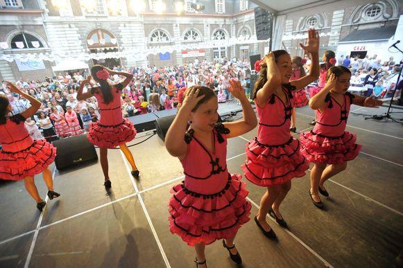 De Spaanse Feesten in Vilvoorde.