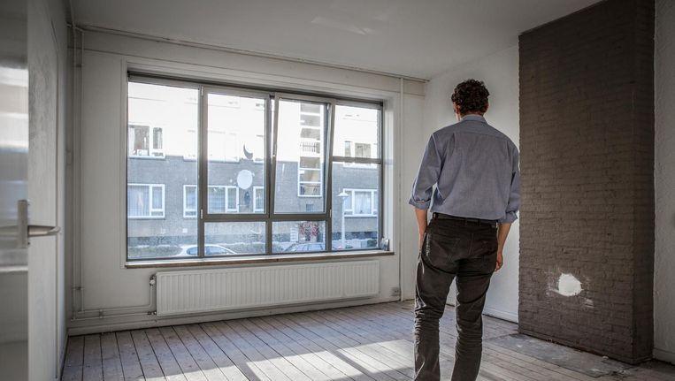 Een kijker in een huurwoning van Stadgenoot. Beeld Dingena Mol