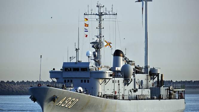 Belgische marine redt ruim 200 vluchtelingen op Middellandse Zee