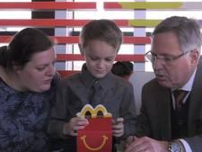 Adriaan op missie voor McDonald's