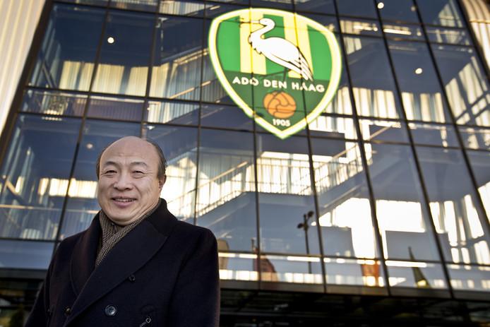 Hui Wang, de eigenaar van ADO Den Haag.
