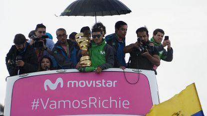 Giro-winnaar Carapaz krijgt warme ontvangst in Ecuador