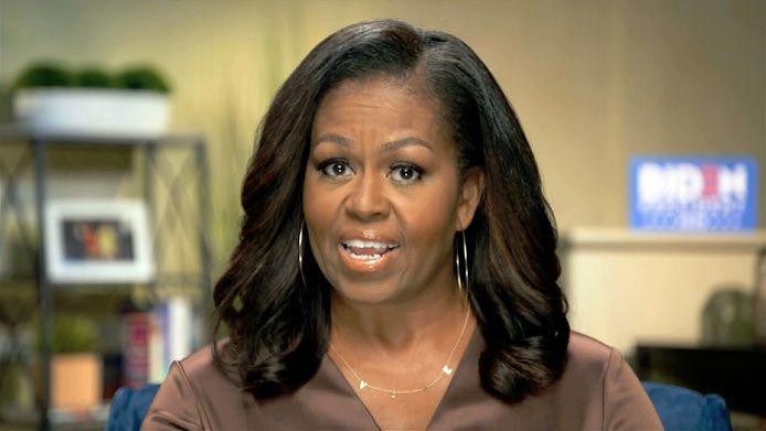 Michelle Obama sprak de Democraten toe tijdens de eerste dag van de conventie.
