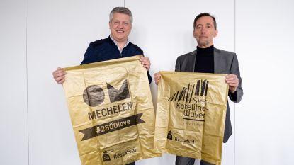 Katelijnenaars zetten vrijdag laatste keer grijze zak uit: gouden zak maakt intrede