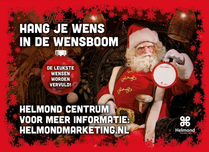 Er komt een kerstwensboom op de Markt in Helmond