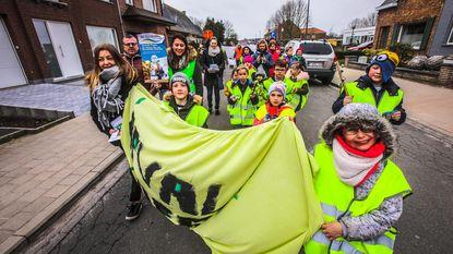 Groene mars bindt strijd aan tegen zwerfvuil
