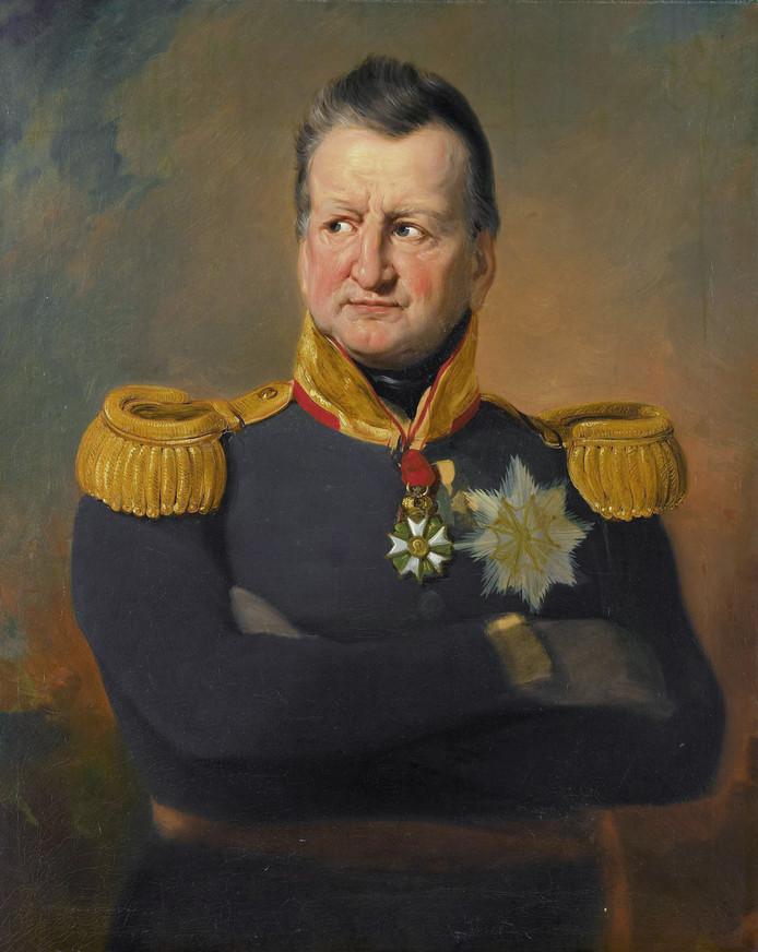 Generaal David Hendrik Baron Chassé (1765-1849), geschilderd door Jan Willem Pieneman.