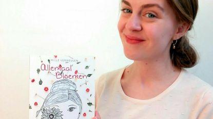 Mille Vermeulen (22) brengt na kinderboeken nu poëziebundel uit