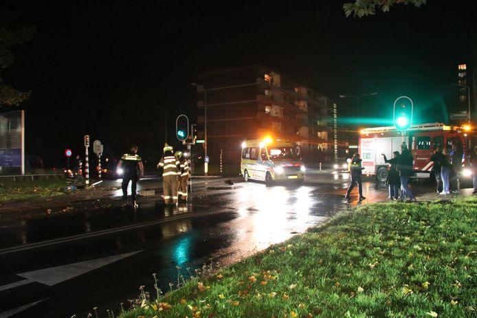 Het ongeluk in Velp.