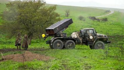 Europa en Rusland roepen Armenië en Azerbeidzjan op geweld te stoppen na beschietingen in betwiste regio Nagorno-Karabach