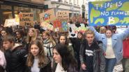 Leerlingen Immaculata zorgen voor de opkomst tijdens klimaatmars
