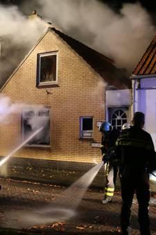 Brand verwoest woning in Colijnsplaat