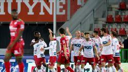 Mboyo en Chevalier bezorgen Kortrijk zege in West-Vlaamse derby, Essevee blijft onderin klassement bengelen
