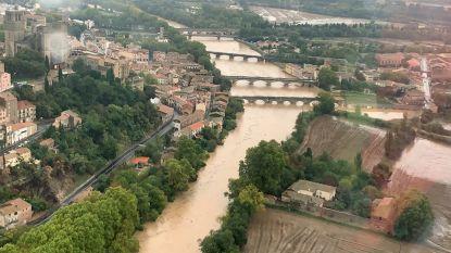 Drie mensen verdronken bij overstromingen Zuid-Frankrijk