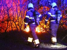 Brand bij restaurant in Oss blijkt afvalbrandje ernaast te zijn
