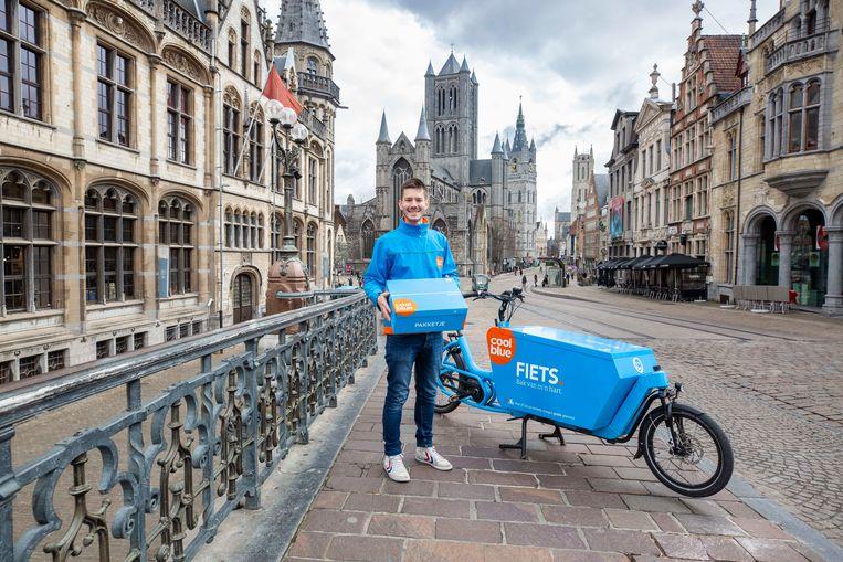 Vanaf vandaag te zien in de stad: Coolblue-fietsers.