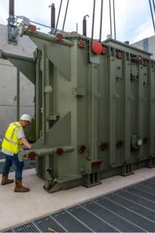 Dankzij deze monstertransformator behouden 50.000 huishoudens in de Achterhoek toegang tot elektriciteit