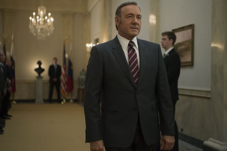 Kevin Spacey als Frank Underwood in 'House of Cards'.
