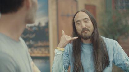 "Steve Aoki speelt al 8 jaar op rij op Tomorrowland: ""Maar ik voel me nog altijd zenuwachtig"""