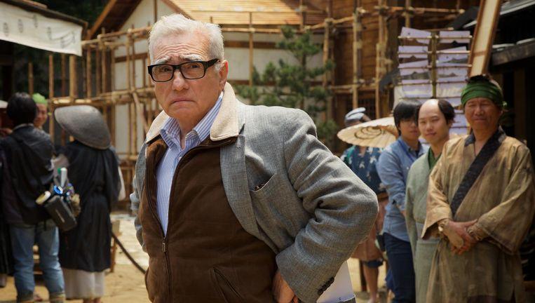 Martin Scorsese op de set van Silence. Beeld Kerry Brown