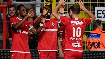 VIDEO. Feest op de Bosuil: Antwerp smeert Cercle eerste nederlaag aan ondanks numeriek ondertal