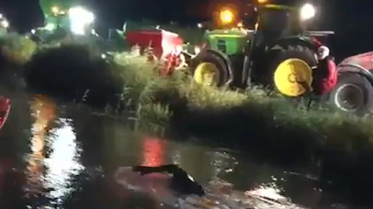 Goede nacht voor Van der Weijden tijdens elfstedenzwemtocht