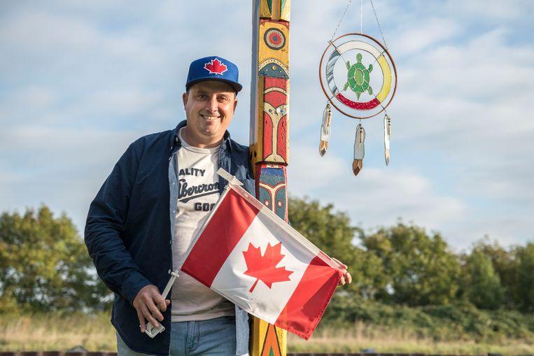 Mike van Ee wordt binnenkort officieel erkend als indiaan.