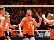 Twentse volleybalsters net buiten EK-selectie