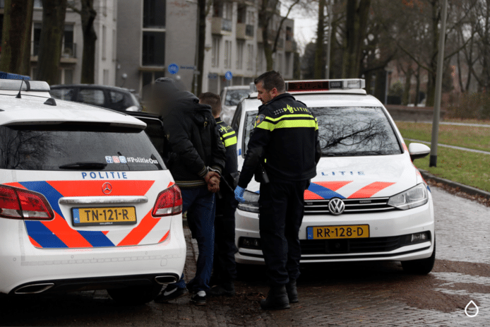 De man werd vorige week nog aangehouden in de Zwaluwstraat