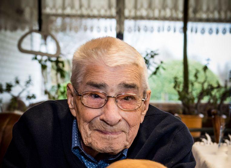 Jef Geubbelmans werd 102 jaar.