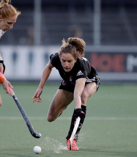 Vrouwen HC Den Bosch in slotminuut onderuit in eerste finalewedstrijd tegen Amsterdam