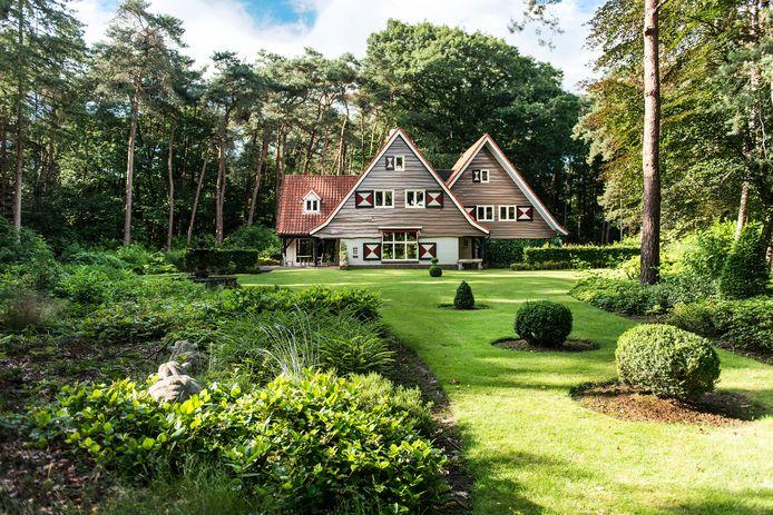 De villa op Hooge Braaken, met uitzicht op het Putven